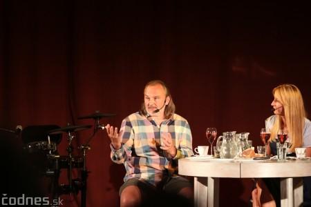 """Foto: Jaroslav Dušek - Talk show """"PODOBY LÁSKY"""" + Piata dohoda - Prievidza 2019 17"""