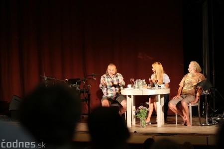 """Foto: Jaroslav Dušek - Talk show """"PODOBY LÁSKY"""" + Piata dohoda - Prievidza 2019 18"""