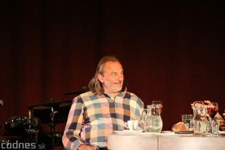 """Foto: Jaroslav Dušek - Talk show """"PODOBY LÁSKY"""" + Piata dohoda - Prievidza 2019 27"""