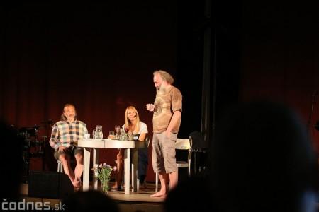 """Foto: Jaroslav Dušek - Talk show """"PODOBY LÁSKY"""" + Piata dohoda - Prievidza 2019 29"""