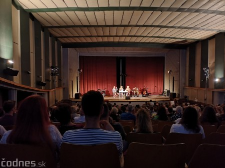 """Foto: Jaroslav Dušek - Talk show """"PODOBY LÁSKY"""" + Piata dohoda - Prievidza 2019 3"""
