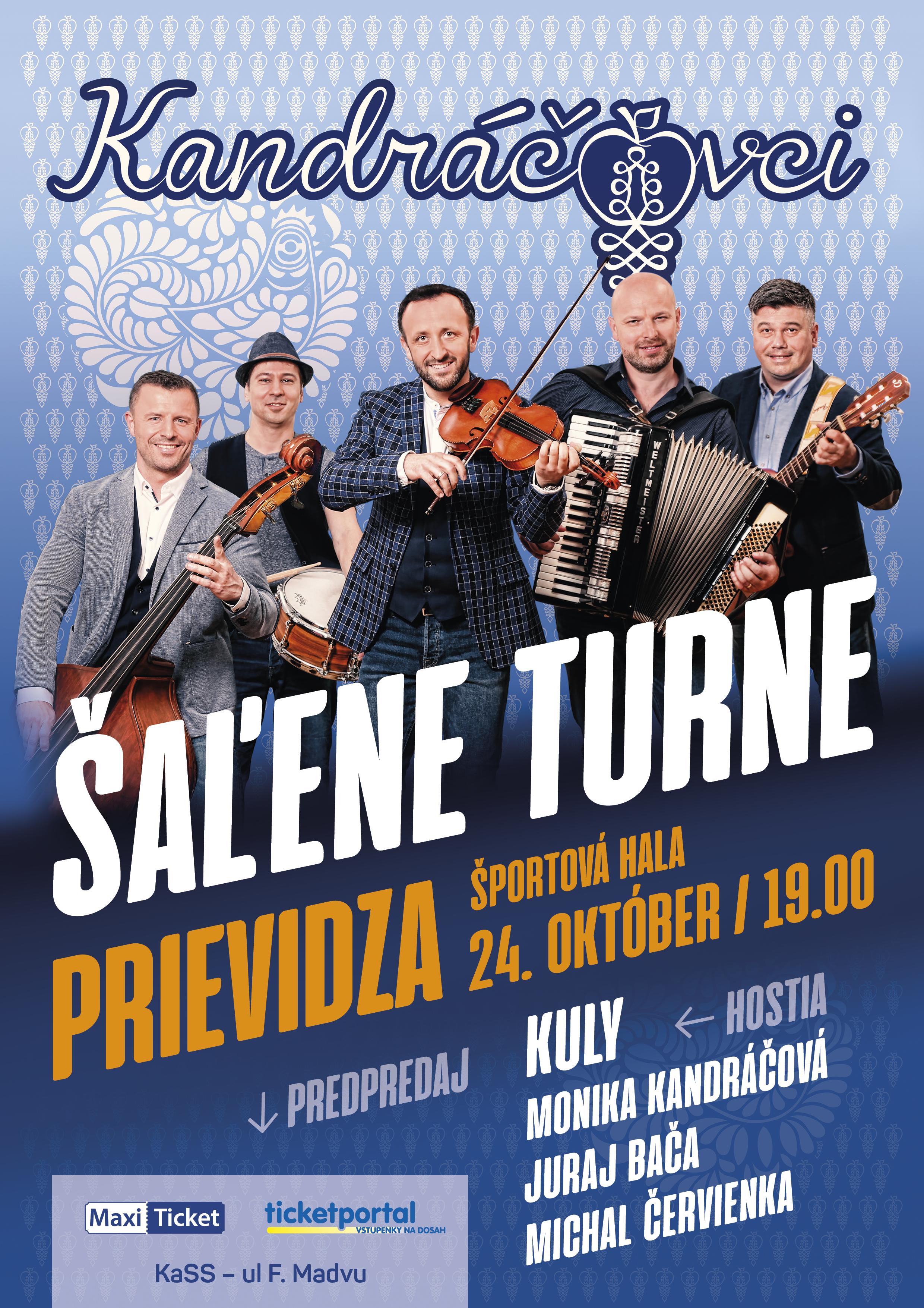 Kandráčovci - Šaľene turne - Prievidza 2019