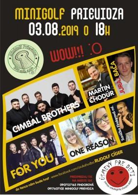 Veľký letný koncert na Minigolfe Prievidza