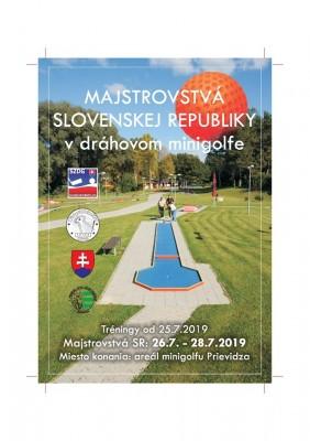 Majstrovstvá SR v dráhovom minigolfe - Prievidza