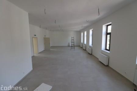 Foto: Rekonštrukcia Meštiansky dom Prievidza - kontrolný deň 0