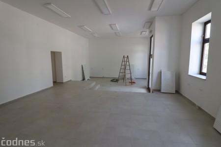 Foto: Rekonštrukcia Meštiansky dom Prievidza - kontrolný deň 1