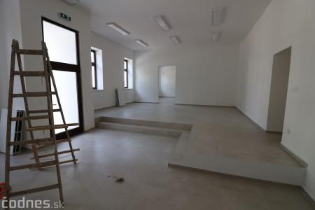 Foto: Rekonštrukcia Meštiansky dom Prievidza - kontrolný deň 2