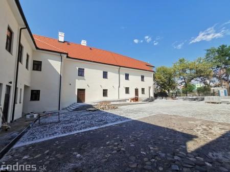 Foto: Rekonštrukcia Meštiansky dom Prievidza - kontrolný deň 5