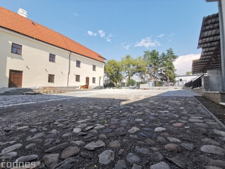 Foto: Rekonštrukcia Meštiansky dom Prievidza - kontrolný deň 6