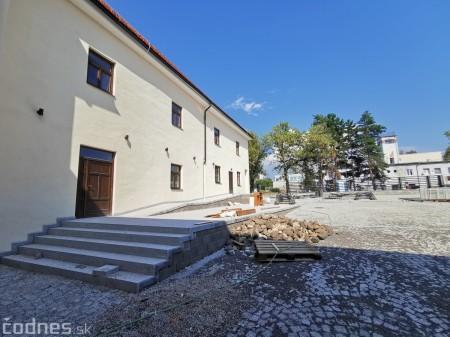 Foto: Rekonštrukcia Meštiansky dom Prievidza - kontrolný deň 7