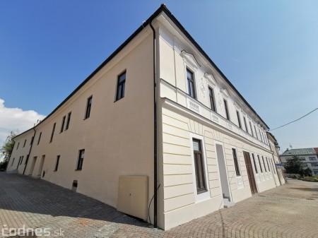 Foto: Rekonštrukcia Meštiansky dom Prievidza - kontrolný deň 9
