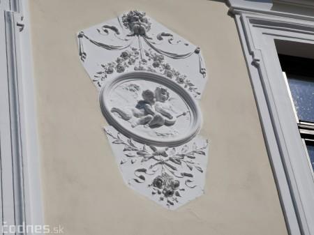 Foto: Rekonštrukcia Meštiansky dom Prievidza - kontrolný deň 10
