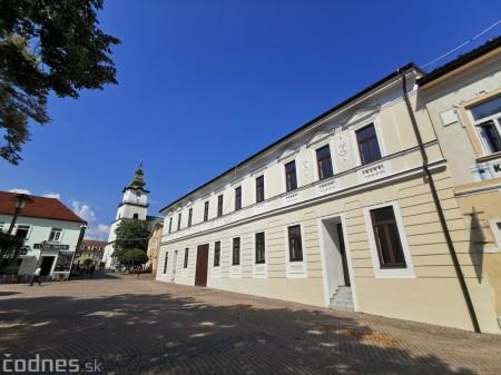 Foto: Rekonštrukcia Meštiansky dom Prievidza - kontrolný deň 12