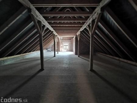Foto: Rekonštrukcia Meštiansky dom Prievidza - kontrolný deň 13