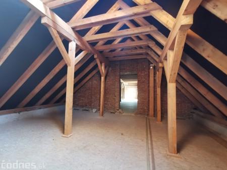 Foto: Rekonštrukcia Meštiansky dom Prievidza - kontrolný deň 14