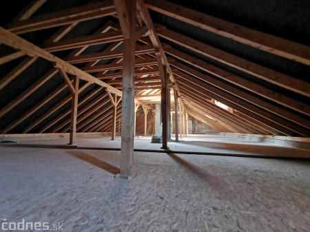 Foto: Rekonštrukcia Meštiansky dom Prievidza - kontrolný deň 15