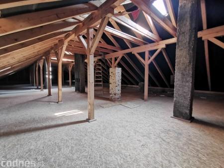 Foto: Rekonštrukcia Meštiansky dom Prievidza - kontrolný deň 16
