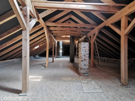 Foto: Rekonštrukcia Meštiansky dom Prievidza - kontrolný deň 17