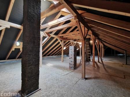 Foto: Rekonštrukcia Meštiansky dom Prievidza - kontrolný deň 18