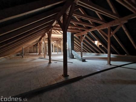 Foto: Rekonštrukcia Meštiansky dom Prievidza - kontrolný deň 19