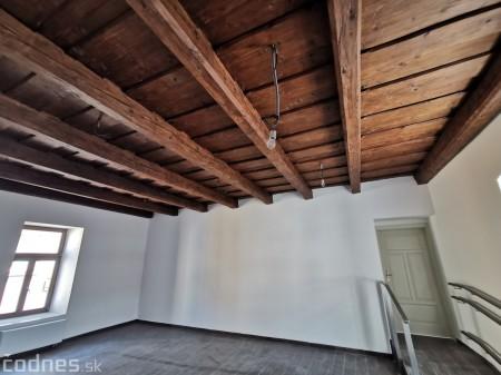 Foto: Rekonštrukcia Meštiansky dom Prievidza - kontrolný deň 21
