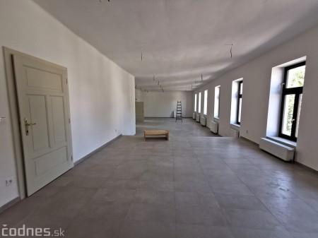 Foto: Rekonštrukcia Meštiansky dom Prievidza - kontrolný deň 25