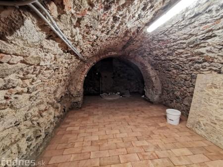 Foto: Rekonštrukcia Meštiansky dom Prievidza - kontrolný deň 40