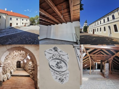 Foto: Rekonštrukcia Meštiansky dom Prievidza - kontrolný deň