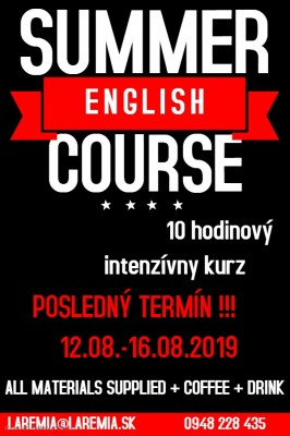 English Summer Course
