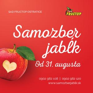 Samozber jabĺk - Ostratice
