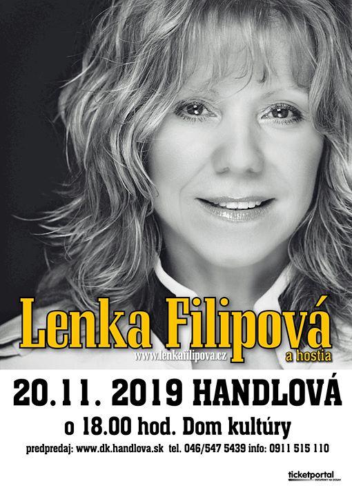 Lenka Filipová a hostia Handlová