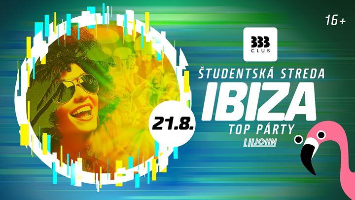☼ IBIZA Top Párty 16+ /// Str 21.8. ☼