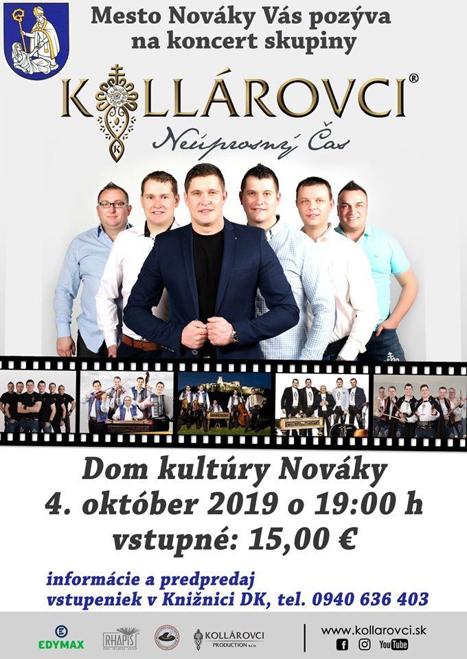 Koncert Kollárovci Nováky 2019