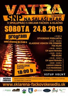 4.ročník Vatra SNP - Fačkovské sedlo