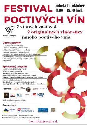 Festival poctivých vín - Bojnice 2019