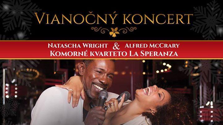 Vianočný koncert Natascha Wright & Alfred McCrary Handlová