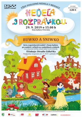Nedeľa s rozprávkou: Sniwko a Buwko