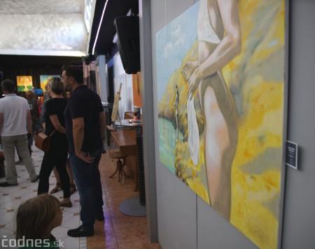 Foto: Vernisáž výstavy - Oleg Cipov - Hand made. Fine art. 2