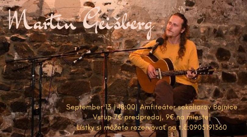 Koncert Martin Geišberg