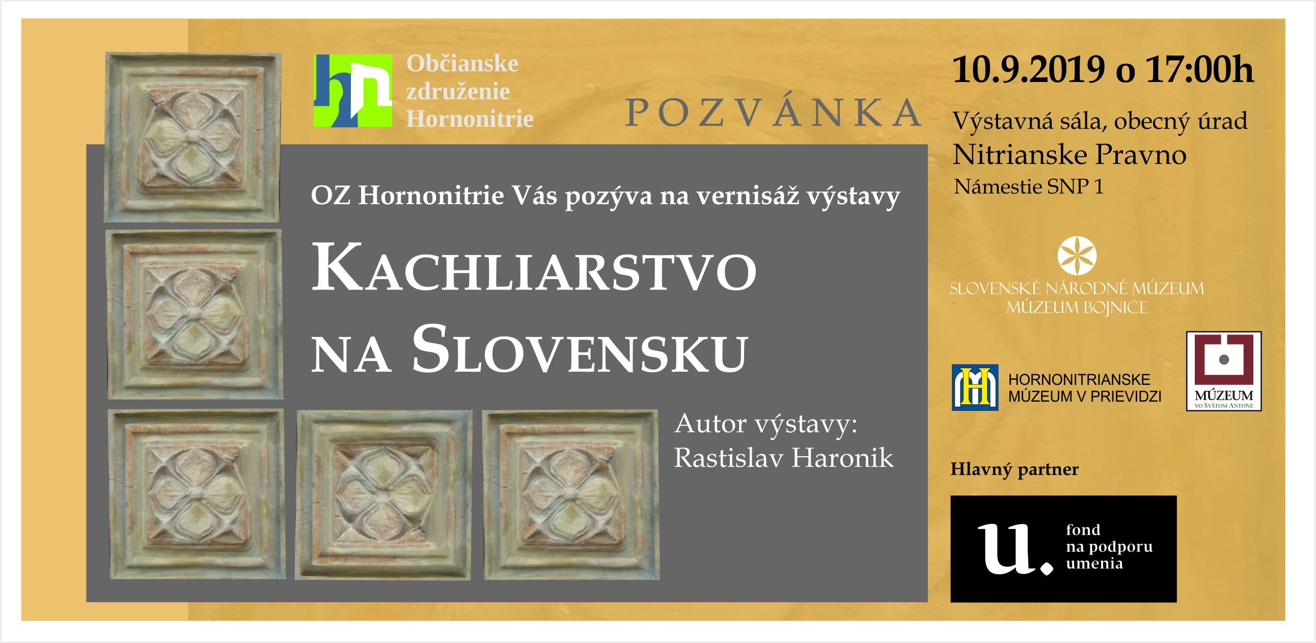Výstava Kachliarstvo na Slovensku