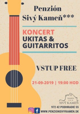 Koncert UKITAS & GUITARRITOS
