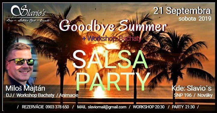Goodbye Salsa Party v Slavio's Nováky.
