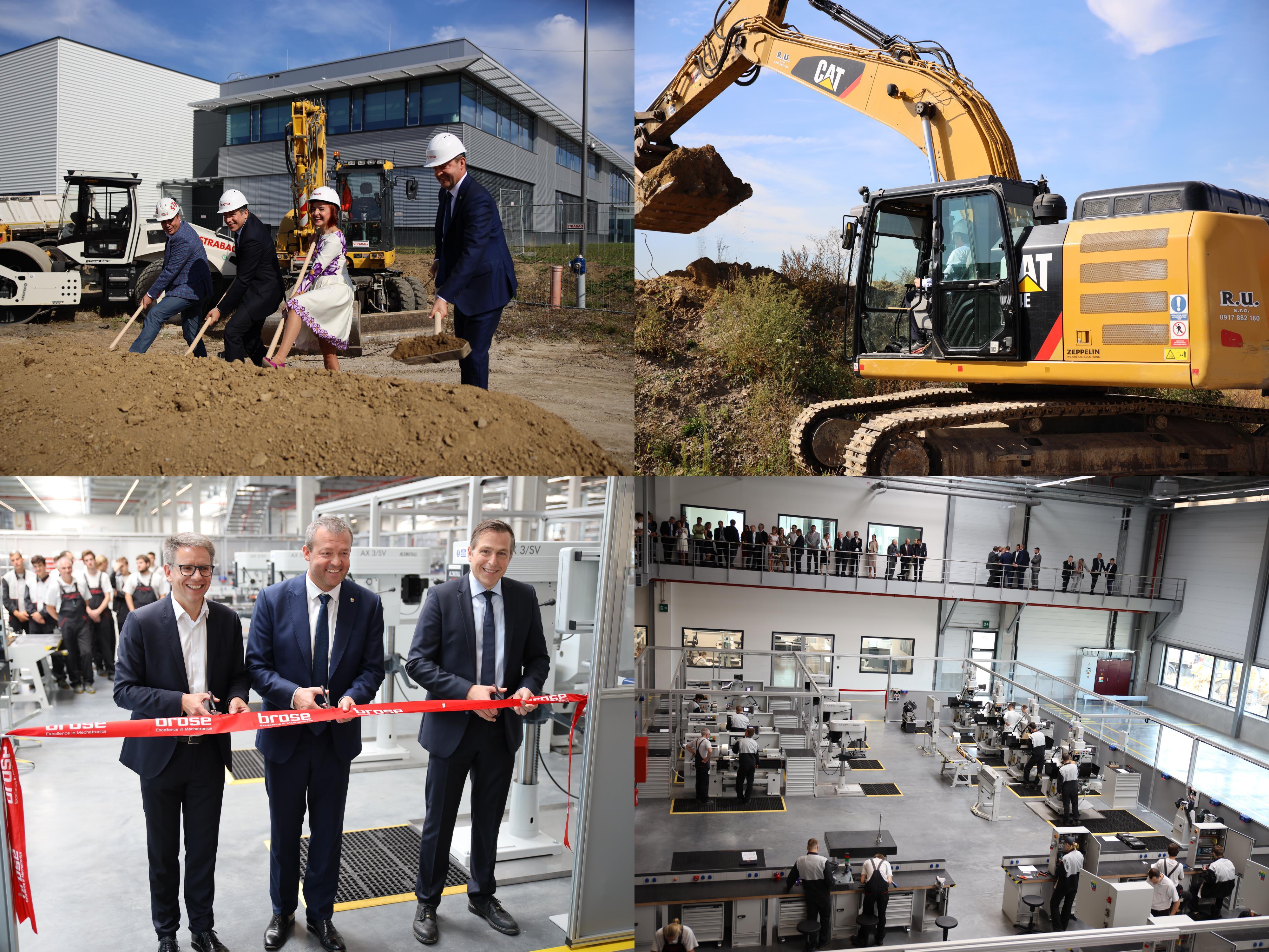 Foto a video: 400 nových pracovných miest pribudne v Prievidzi po dostavbe tretej výrobnej haly spoločnosti Brose
