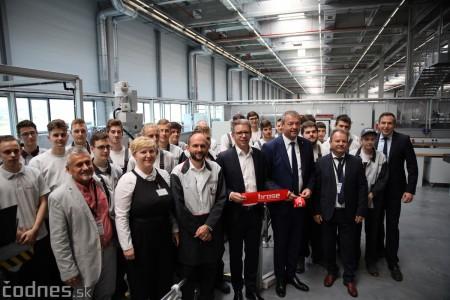 Foto a video: 400 nových pracovných miest pribudne v Prievidzi po dostavbe tretej výrobnej haly spoločnosti Brose 14