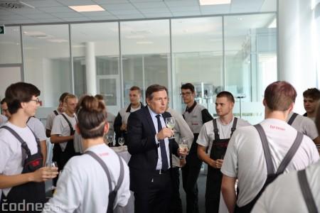 Foto a video: 400 nových pracovných miest pribudne v Prievidzi po dostavbe tretej výrobnej haly spoločnosti Brose 35