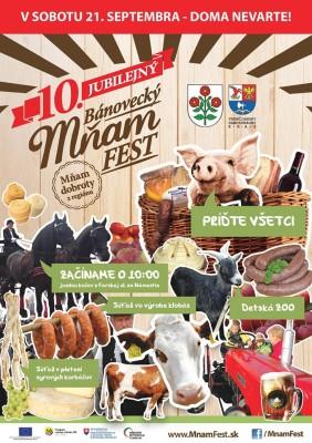 Mňam FEST 2019 - Bánovce nad Bebravou - kompletný program