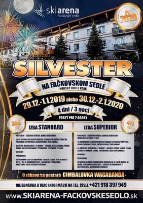 Silvester 2019 na Fačkovskom sedle - Hotel Kľak