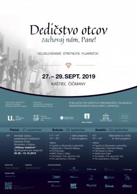 Celoslovenské stretnutie fujaristov 2019 - Kaštieľ Čičmany