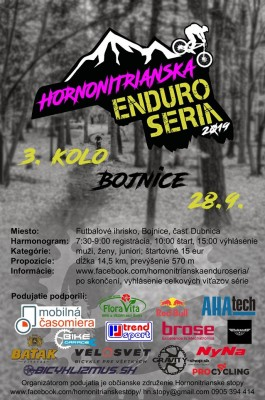 Hornonitrianska Enduro Séria - 3. kolo Bojnice