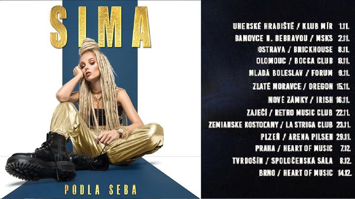 SIMA podla seba tour Lastriga club 23.11.
